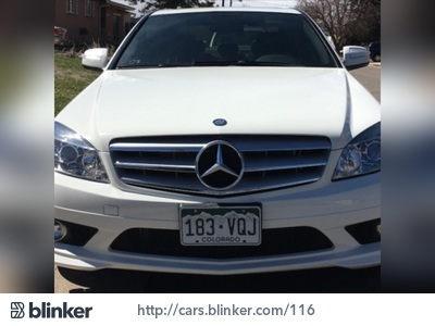 2009 MERCEDES C Class 2009 Mercedes-Benz C ClassI have chosen to list this vehicle on Blinker Bl