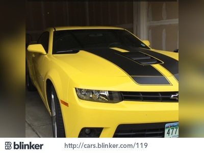 2014 Chevrolet Camaro 2014 Chevrolet CamaroI have chosen to list this vehicle on Blinker Blinker