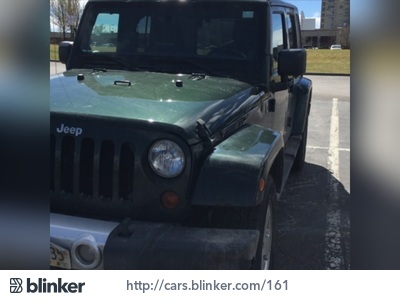 2011 Jeep Wrangler 2011 Jeep WranglerI have chosen to list this vehicle on Blinker Blinker offer