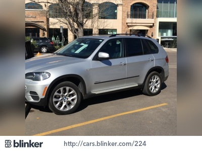2011 BMW X5 2011 BMW X5I have chosen to list this vehicle on Blinker Blinker offers many benefit