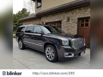 2015 GMC Yukon XL 2015 GMC Yukon XLI have chosen to list this vehicle on Blinker Blinker offers