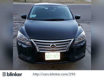 2014 Nissan Sentra 2014 Nissan SentraI have chosen to list this vehicle on Blinker Blinker offer