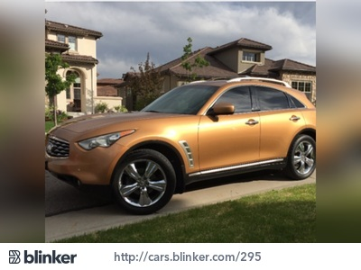 2009 Infiniti FX35 2009 Infiniti FX35I have chosen to list this vehicle on Blinker Blinker offer