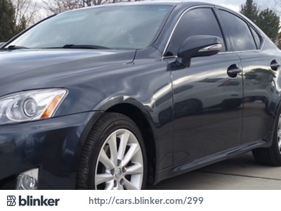 2010 Lexus IS 250 2010 Lexus IS 250I have chosen to list this vehicle on Blinker Blinker offers