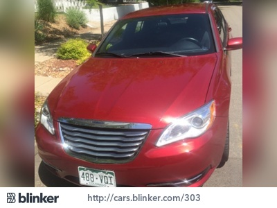 2012 Chrysler 200 2012 Chrysler 200I have chosen to list this vehicle on Blinker Blinker offers