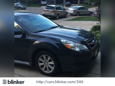2011 Subaru Legacy 2011 Subaru LegacyI have chosen to list this vehicle on Blinker Blinker offer