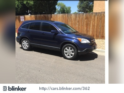 2007 Honda CR-V 2007 Honda CR-VI have chosen to list this vehicle on Blinker Blinker offers many