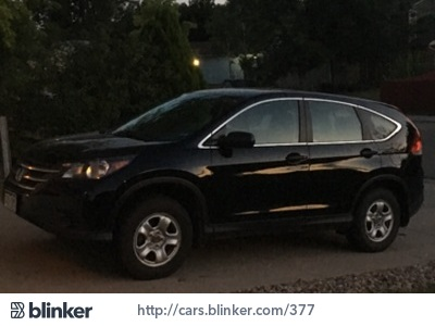 2014 Honda CR-V 2014 Honda CR-VI have chosen to list this vehicle on Blinker Blinker offers many