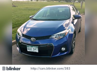 2014 Toyota Corolla 2014 Toyota CorollaI have chosen to list this vehicle on Blinker Blinker off