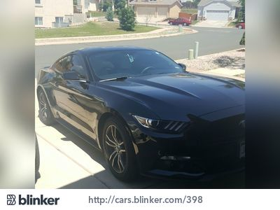 2016 Ford Mustang 2016 Ford MustangI have chosen to list this vehicle on Blinker Blinker offers