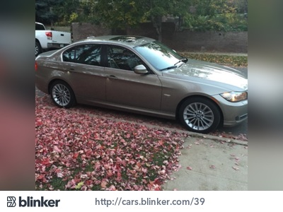2011 BMW 3-Series 2011 BMW 3-SeriesI have chosen to list this vehicle on Blinker Blinker offers