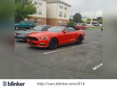 2015 Ford Mustang 2015 Ford MustangI have chosen to list this vehicle on Blinker Blinker offers