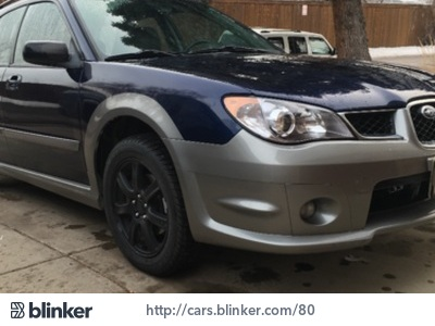 2006 Subaru Impreza 2006 Subaru ImprezaI have chosen to list this vehicle on Blinker Blinker off